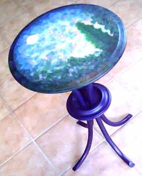 Reflect Table - side view